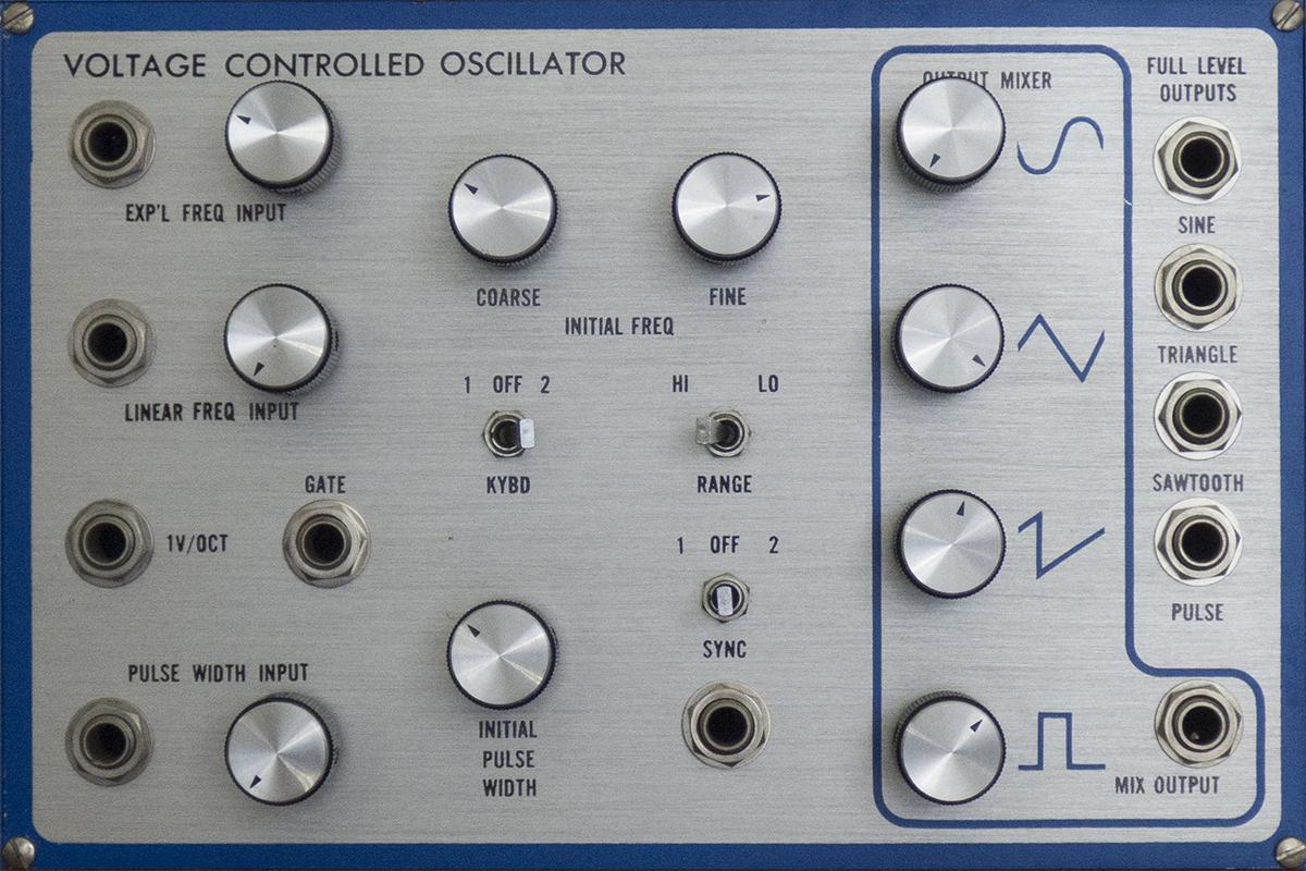 E Mu Modular Oscillators Audio Module 2200 Voltage Controlled Oscillator